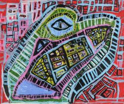 Œuvre de l'artiste Créahm Région Wallonne asbl
