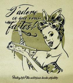 Œuvre de l'artiste Hello Girls ! featuring Au Four et au Jardin