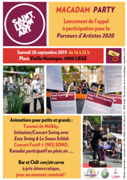 Image de la news Macadam Party & Lancement de l'appel à candidatures 2020