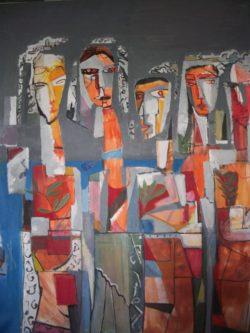 Œuvre de l'artiste DJAMEL MERBAH
